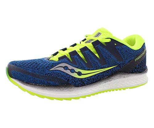 Saucony Men's Freedom ISO 2 Running Shoe 11.5 Blue