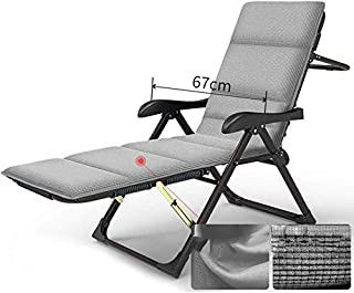 Garden Lounge Chair, Multi-Functional Beach Chair, Breathable Cushion, Folding and Portable, Sunbed/Garden/Outdoor/Living Room, Support 200Kg.