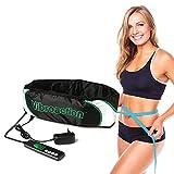 QQZJ Cinturón Abdominal Trainer, Cinturon Adelgazante Aparato de Masaje Adelgazar Cuidado Personal para Abdominal/Espalda/Lumbar/Pantorrilla/Nalgas