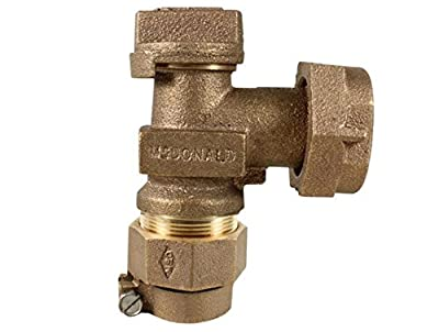 """3/4"""" Angle Plug Valve CTS x Meter Swivel from"""
