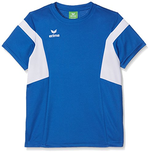 Erima Kinder Classic Team T-Shirt, New royal/Weiß, 140