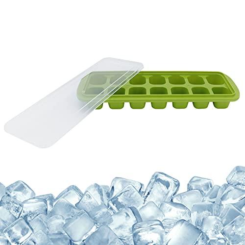 Bandeja de hielo de plástico, bandeja de hielo Cubo de hielo para bricolaje conveniente y práctico