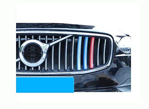 Front Grille Stripe Decals Voor Volvo XC60 / S90 Clip In Grille Inserts Compatibel met