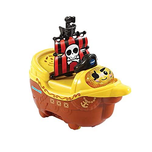 VTech Tut Tut Baby Badewelt - Piratenschiff – Interaktives Badespielzeug mit Musik, Geräuschen und Lichtern – Für Kinder von 1-5 Jahren