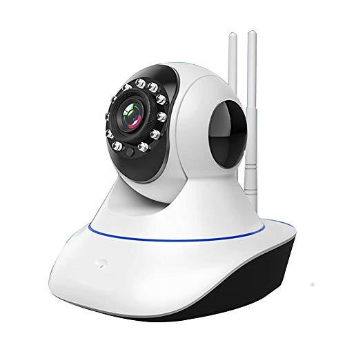 Pilot Electrical Sicherheits-Wireless-IP-Kamera 3MP Nachtsicht Überwachungssystem Zweiwege-Audio Bewegungserkennung Aktivitätswarnung Babyphone -Abschreckend Alarm-iOS, Android App,1080P,64G
