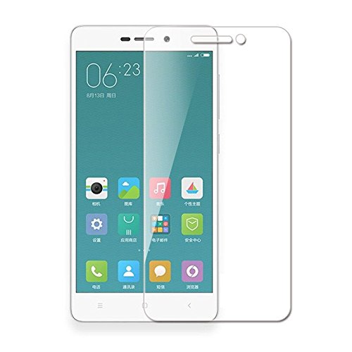 Generica - Protector de pantalla de Cristal Templado para Xiaomi Redmi 3 / 3S/ 3 Pro