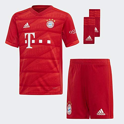 adidas FCB H Mini Equipment, Unisex Kinder XL Rot