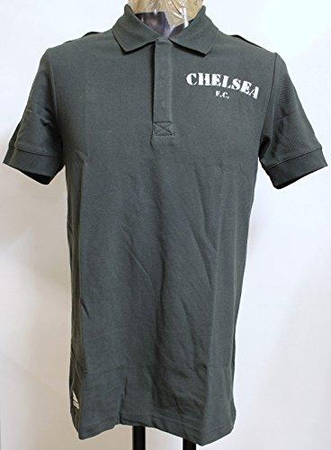 Adidas Chelsea 2011/12 Authentic Polo, Grigio, L