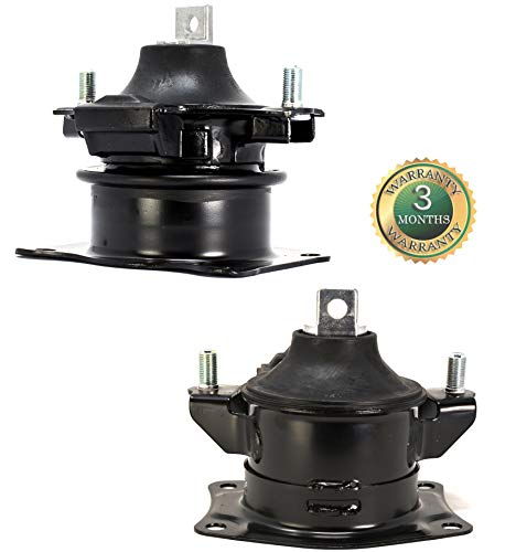 RP Remarkable Power, G061 Fit For 2003-2007 Accord 2.4L Front & Rear Engine Motor Mount Set 2004-2008 TSX 2.4L Automatic Trans Front & Rear A4516 A4526