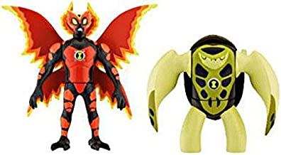 Ben 10 Alien Creation Chamber Mini Figure 2Pack Ultimate Big Chill Terraspin