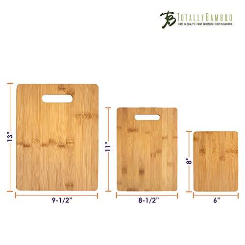Planche à Découper 3 Pièces Totally Bamboo - Modèle 20-7930 - 8
