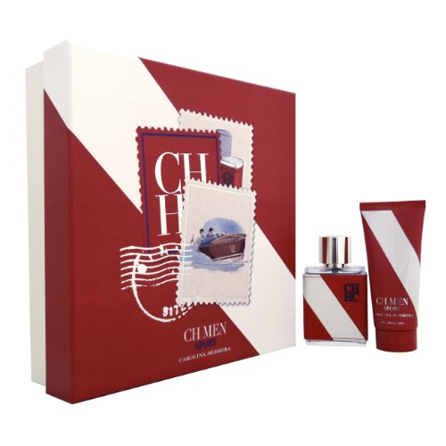 Carolina Herrera CH Sport Giftset EDT Spray 50 ml + Aftershave Balm 100 ml, 1er Pack (1 x 150 ml)