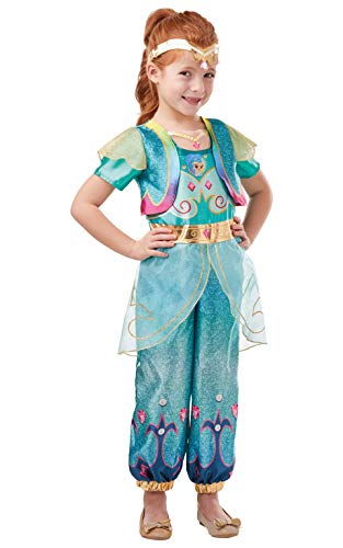 Rubie's- Official Shimmer & Shine Disfraz, Multicolor, medium (300238M)