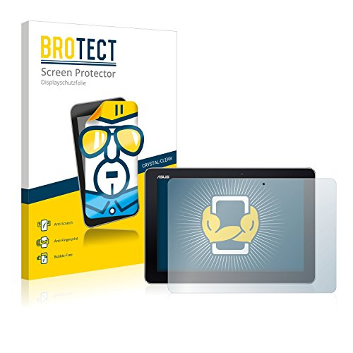 BROTECT Schutzfolie kompatibel mit Asus MeMo Pad 10 ME103k 2014 (2 Stück) klare Bildschirmschutz-Folie