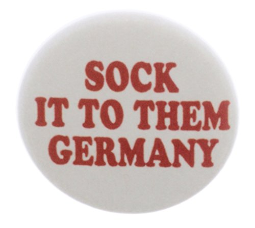 Socke ES IHNEN Germany 5,7cm Flaschenöffner w/Schlüsselanhänger–Gewinnt World Cup 2014