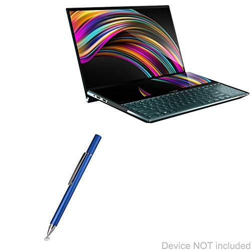 ASUS ZenBook Pro Duo (UX581GV) Stylus Pen, BoxWave [FineTouch Capacitive Stylus] Super Precise Stylus Pen for ASUS ZenBook Pro Duo (UX581GV) - Lunar Blue