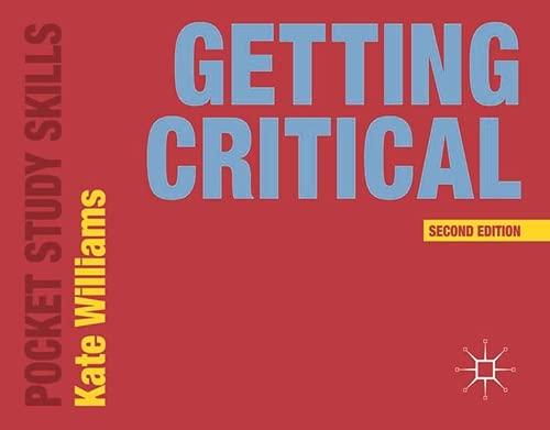 Getting Critical Pocket Study Skills