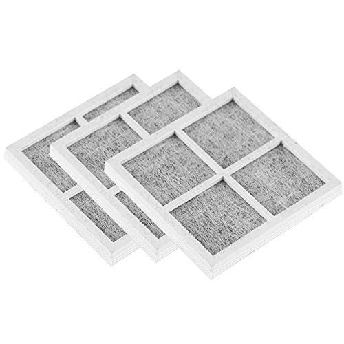 Filtro de nevera, filtro de aire de nevera, eliminación de olores Reemplazo del filtro de aire de nevera Carbón activado Carbón activado eficiente para LG Números de pieza