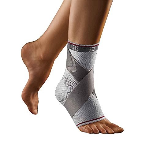 BORT select TaloStabil® Plus Fußbandage, medium, silber, links
