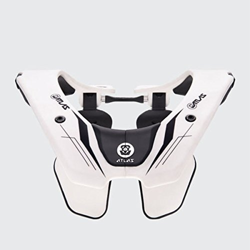 2019 Atlas Air Neck Brace-Ghost White-M