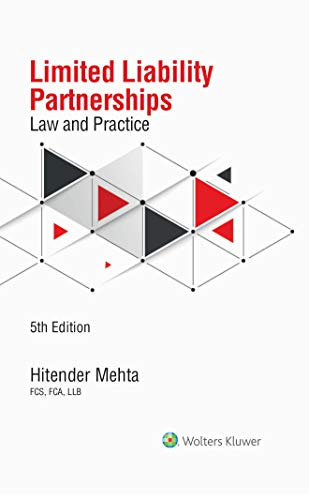 LIMITED LIABILITY PARTNERSHIPS LAW AND PRACTICE/5TH ED