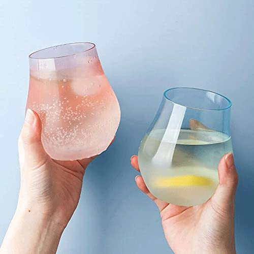Dabeigouzbolb Glaser Farbverlauffarbe Hohe Kapazität Wasserkup-Glasschale für Home-12 Oz / 345ml (Color : Green)