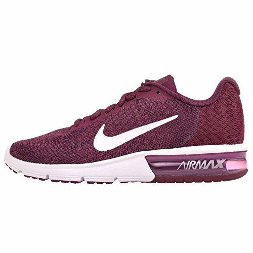 Nike Damen WMNS Air Max Sequent 2 Fitnessschuhe, Mehrfarbig (Bordeaux/White/Tea Berry/White 602), 37.5 EU