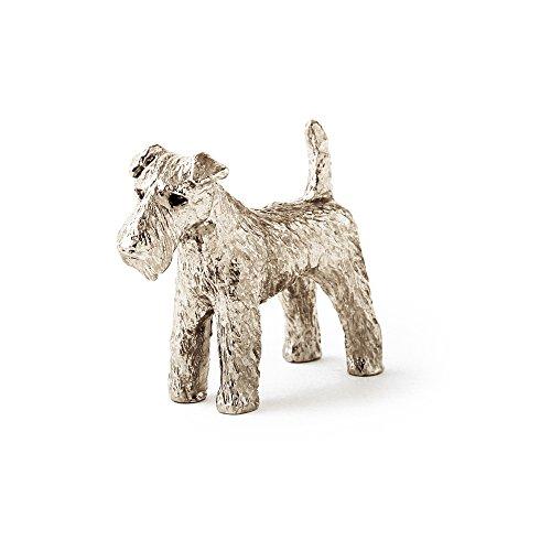 Welsh Terrier Made in UK, Collezione Statuetta Artistici Stile Cani