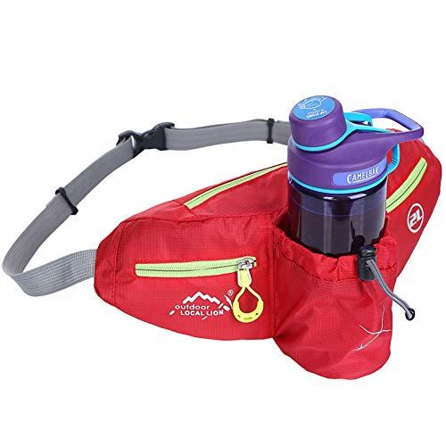 AIREEBAY Laufgürtel Tasche Wasserkocher Geldbörse Sammlung Brieftasche Angeln Tasche Sport Casual Fashion Gürteltasche setzen können