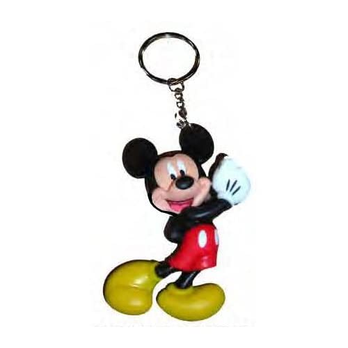 Disney Keyring Large Rubber NEW Mickey /& Minnie