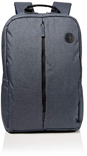 HP Value Grey Backpack for Upto 15.6 Inch (39.6 cm) Laptop/Chromebook/Mac, Grey/Blue