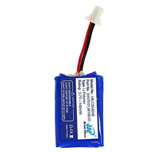 Plantronics CS540, C054 Battery Replacement, 84479-01, 86180-01 Battery for Plantronics CS540, C054 Headset,