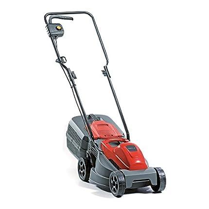 RASER Alpina 293300063/14 Cortacesped Electrico E 300, 1000 W, Rojo, Ancho de Corte 30 cm, Sacco di raccolta 25 litri, 230 V