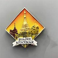 アジア、タイ、韓国、日本の旅行のための家庭用冷蔵庫磁石のための冷蔵庫の磁石3D樹脂の磁気ステッカー装飾のための土産物冷蔵庫磁石,11
