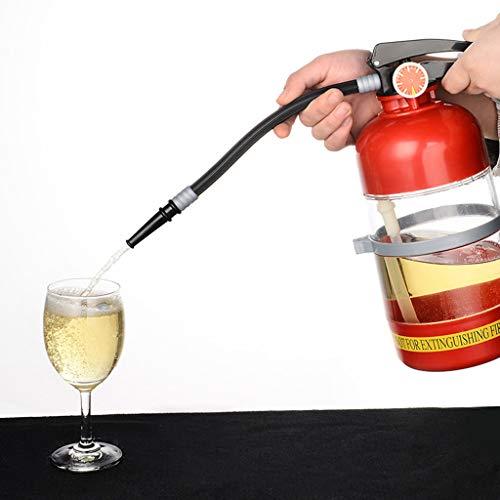 FYQF Dispensador De Agua Cerveza, Extintor Retro Alcohol Decantador Líquido Refresco Mini Bar Accesorios Estilo Decantador 2l