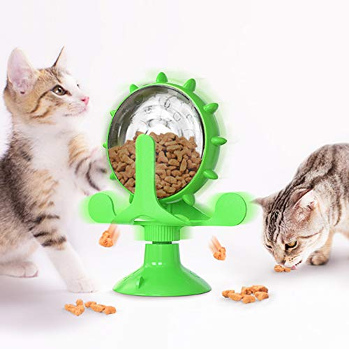 SUNLYTOUR Pet Slow Feeder, Dog Cat Food Dispenser, Puzzle...