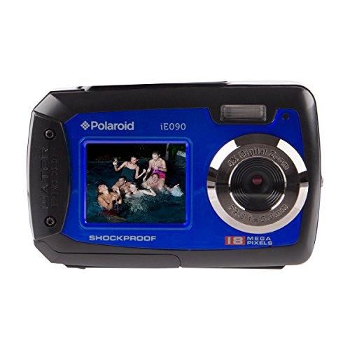"Polaroid IE090-BLU Waterproof Digital Camera with 2.8"" LCD (Blue)"