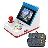 CXYP Mini Recreativa Arcade, 3 Pulgadas 360 Juegos Consola de Juegos Portátil Retro Mini Arcade de Juegos portátil Retro Consola para Regalo de niños