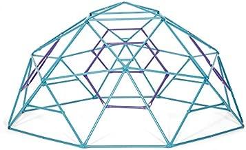 Plum PHOBOS Climbing Dome - Fun Geometric Children's Dome Climber - Perfect Kids Playground Addition - Teal/Purple Color
