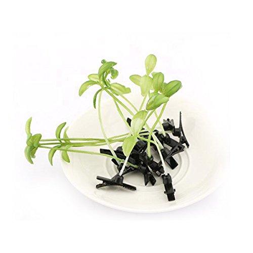 WINOMO Pousser l'herbe cheveux Clip en épingle à cheveux coiffure 10pcs (vert)