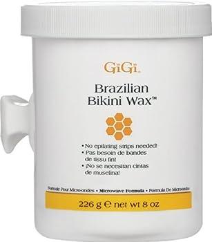 GiGi Brazilian Bikini Wax Microwave Formula 8 oz  Pack of 2