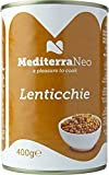 MediterraNeo - Lenticchie in scatola, 6 x 400 g