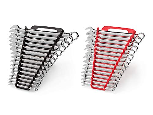 TEKTON Combination Wrench Set, 30-Piece (1/4-1 in., 8-22 mm) - Holder | 90191