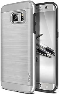 GALAXY S7 Edge ケース OBLIQ Slim Meta Pro プラスチック × TPU 2層構造 ヘアラインデザイン スリム ハードケース for Samsung GALAXY S7 Edge SC-02H SCV33 サテンシ...