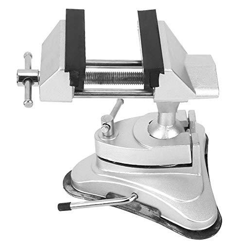 Vakuum Basis Schraubstock Aluminiumlegierung Miniatur Schraubstock 360 Grad Rotation Haushalt Tisch Schraubstock Werkzeugmaschine