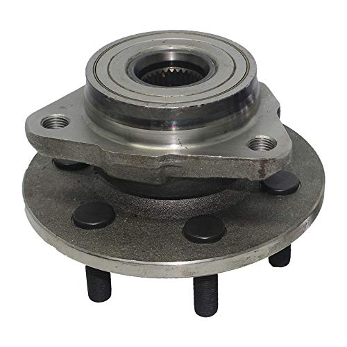 Detroit Axle 515007 Front Wheel Hub and Bearing Assembly Driver or Passenger Side 4x4 Only no ABS for Dodge Dakota 1997 1998 1999 2000 2001 2002 2003 2004 Dodge Durango 1998 1999 2000 2001 2002 2003