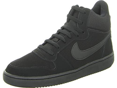 Nike Court Borough Mid, Baskets Hautes Homme, Noir (Black), 42.5 EU