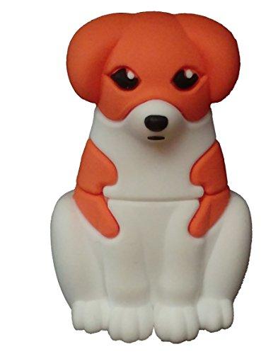 Hond Huisdier 16 GB USB-stick - 2.0 - Cute Dog USB Flash Drive - Origineel Cadeau voor Man en Vrouw - Dataopslag - Bruin Wit