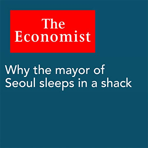 『Why the mayor of Seoul sleeps in a shack』のカバーアート