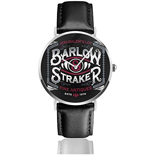 Unisex Business Casual Salems Lot Barlow und Straker feine Antiquitäten Uhren Quarz Leder Uhr